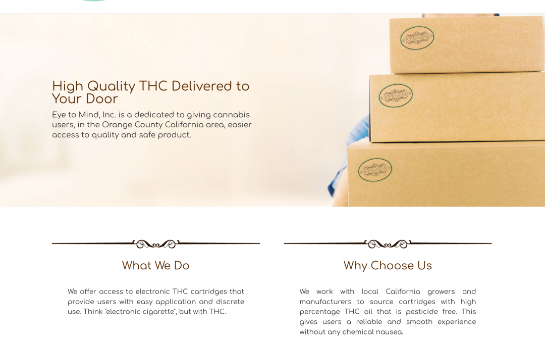 THC Delivery Service
