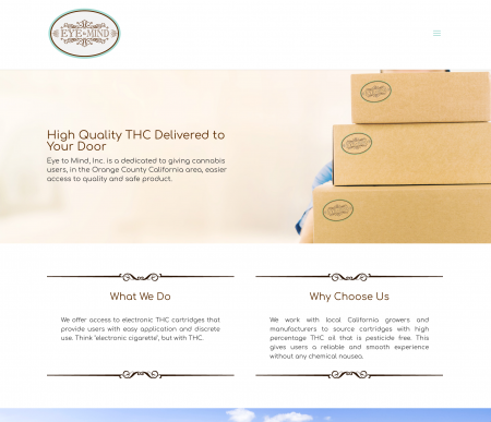 THC Subscription and Delivery Website by Internovations