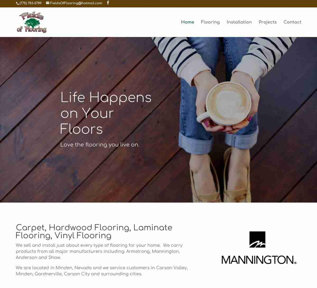 Carpet, Hardwood Flooring, Laminate Flooring, Vinyl Flooring - Fields of Flooring