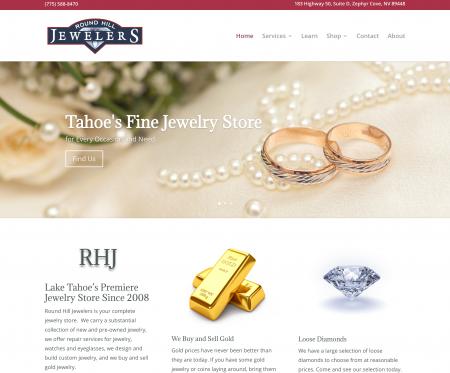 New Round Hill Jewelers Website