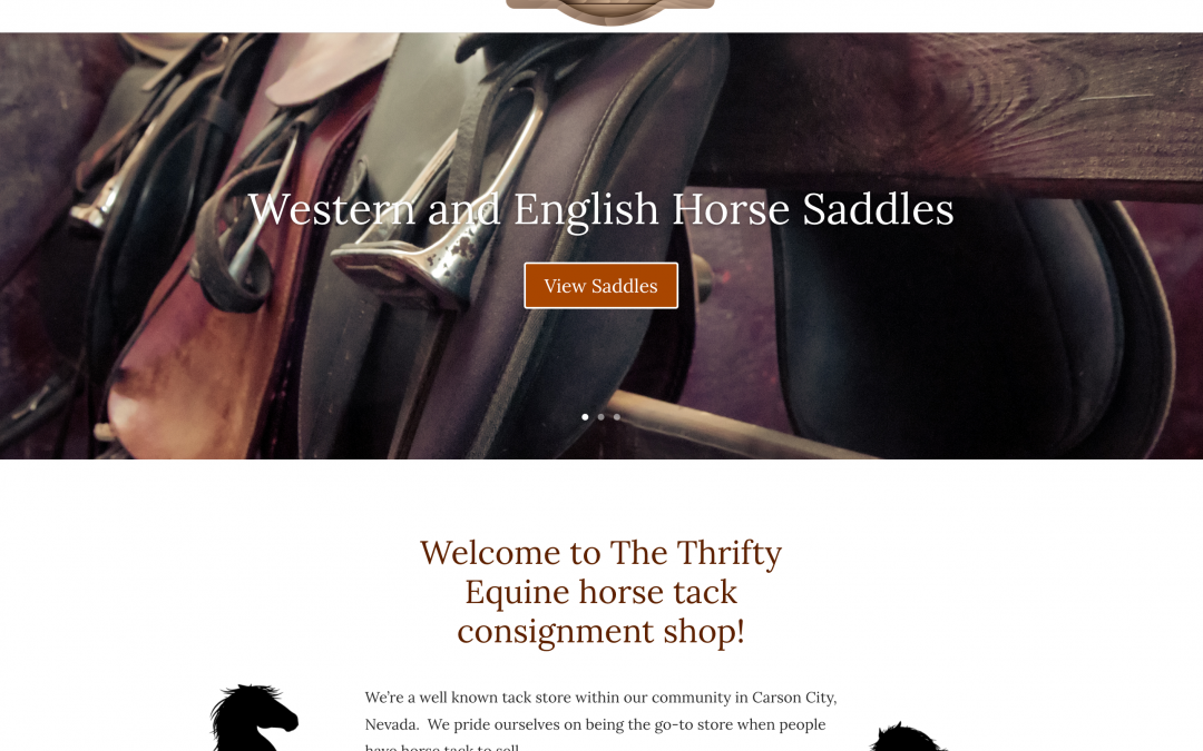 Saddle Up Your Website