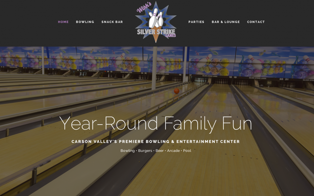 Bowling in Carson Valley Nevada